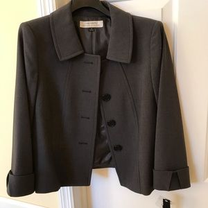 Tahari Grey Jacket NWT